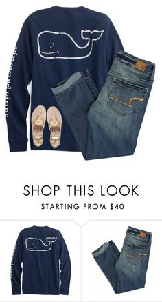 """""""simple set//rtd please!!"""" by nc-preppy-living ❤ liked on Polyvore featuring American Eagle Outfitters and Jack Rogers"""