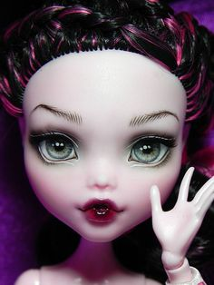 Amazing Custom Monster High Doll by Nesladkaya_N #doll #monsterhigh #toy