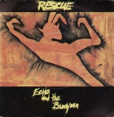Echo And The Bunnymen - Rescue (7'') (KOW 1) (1980).