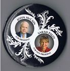This GOP team lost to Obama / Bieden Presidential History, Presidential Election, All Presidents, Sarah Palin, Historical Photos, Obama, Lost, Button, Black
