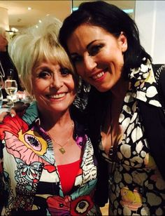 Barbara Windsor and Jessie Wallace