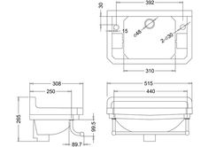 Burlington Cloakroom Basin with Towel Rail - 2 Tap Hole Burlington Cloakroom Basin with Towel Rail – 2 Tap Hole Chrome Towel Rail, Cloakroom Basin, Wall Brackets, Chrome Plating, Toilet, Diy, Design, Ideas, Flush Toilet