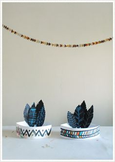 DIY Thanksgiving Headbands