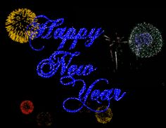 Happy New Year Beautiful Colorful Fireworks Animated Graphic Happy New Year Pictures, Happy New Year Gif, Happy New Year Greetings, Merry Christmas And Happy New Year, Christmas Scenes, Christmas Animals, Christmas Time, Fireworks Animation, Betty Boop Birthday