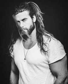 Second up; on todays for those of you who have seen the new Tyler Perry – Boo - Madea's new movie, you'll recognize him as Thorgeous/frat boy Male Model Brock O'Hurn now. Brock Ohurn, Hair And Beard Styles, Long Hair Styles, Long Hair Beard, Short Hair, Viking Men, Hipster Man, Man Bun, Attractive Men