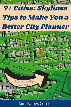 Struggling with your city in Cities: Skylines? These Cities: Skylines tips will make you a better city planner and make the perfect city. Learn about land value, policies, road structure, and more. Read these Cities: Skylines tips to learn more!! #gaming #citiesskylines #simulationgames City Skylines Game, City Layout, Losing People, Sims Games, Earn More Money, Metro Station, Traffic Light, Bus Stop, Simulation Games