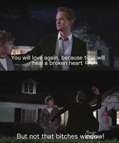 I feel like having NPH around would just improve your quality of life vastly.