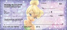 Side Tear Tinker Bell Cartoon checks are famous now and people young and old love to show their lighter side to the world. cheap Tinkerbell checks are cost effective way of showing what you are and putting forward your love for the Tinkerbell character Order Checks Online, Tinkerbell Characters, Business Checks, Old Love, Tinker Bell, Cartoon, Disney, Fun, Cookware