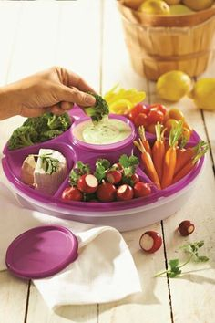 Serving Center... Great for tailgates, pot lucks, and parties. Order yours at 80000716622.my.tupperware.com