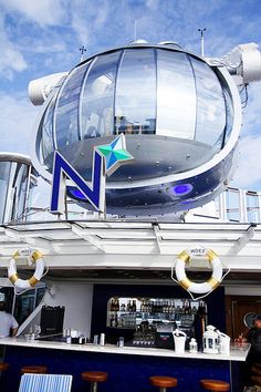 360° views from the glass North Star. #AnthemoftheSeas #RoyalCaribbean