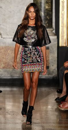 This outfit was designed E Pucci for the Milan Fashion Week 2014. It is important for Buyers to research different fashions from around the world in order to make their store more diverse.