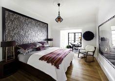 Quatre styles pour une tête de lit | CHEZ SOI