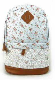 Countryside Floral School Backpack