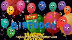 Happy Birthday Gif Images, Animated Happy Birthday Wishes, Happy Birthday Greetings Friends, Happy Birthday Wishes Photos, Birthday Wishes Flowers, Happy Birthday Kids, Happy Birthday Celebration, Happy Birthday Balloons, Happy Birthday Messages