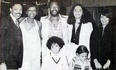 mrmarvinpentzgayejr:   Marvin & Janis at Natalie Cole and Marvin Yancy's wedding reception in 1976, Natalie's sister Carole is to Janis' right. Rest in peace again, Ms. Natalie Cole.  70sBestBlackAlbums