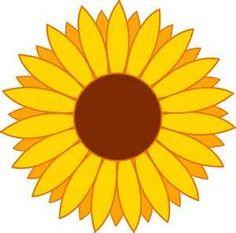 free printable sunflower stencils sunflower clip art vector clip rh pinterest com sunflower clip art black and white sunflowers clip art free