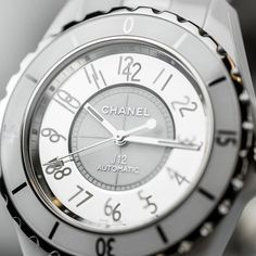 "The Chanel J12 watches were originally conceived as men's watches but ""stolen by women"". Discover the iconic fashion watches for women that will never go out of style: http://www.thejewelleryeditor.com/videos/luxury-watches/timeless-design-top-5-iconic-watches-for-women-bulgari-chanel-patek-philippe/?action=play  #expensive"