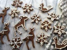 """gingerbread"" salt dough ornaments | Brooklyn Homemaker"