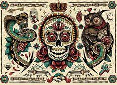 Tatto calavera