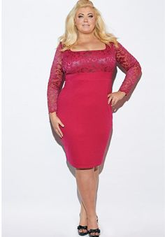 Pin for Later: Be the Belle of the Ball in These Plus-Size Party Dresses Gemma Collins Georgia 2-in-1 Lace Dress Gemma Collins Georgia 2-in-1 Lace Dress (£42, originally £70)