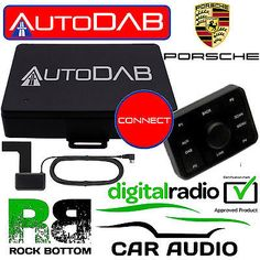 Porsche autodab dab+ car #stereo fm #radio digital tuner & glass aerial #upgrade,  View more on the LINK: 	http://www.zeppy.io/product/gb/2/351800982100/