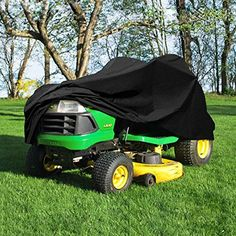 "NEH® Deluxe Riding Lawn Mower Tractor Cover Fits Decks up to 54"" - Black - Water, Mildew, and UV Resistant Storage Cover > Luxurious Light Weight Fabric to Protect your Riding Lawn Mower / Tractor Water, Mildew, and UV Resistant Air Vents at Rear of Cover Check more at http://farmgardensuperstore.com/product/neh-deluxe-riding-lawn-mower-tractor-cover-fits-decks-up-to-54-black-water-mildew-and-uv-resistant-storage-cover/"