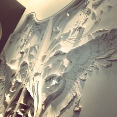 Ornamental Plaster interior - Alexander McQueen store - Bond Street location.