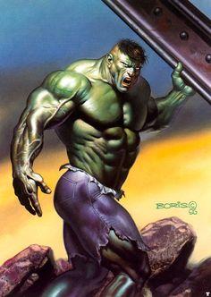 Hulk by Boris Vallejo