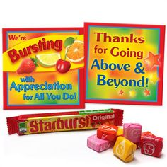 Bursting With Appreciation Starburst Pack | Promos On-Time