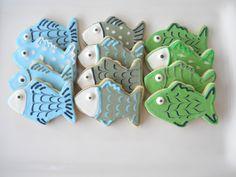 Fish Sugar Cookies. $19.95, via Etsy.