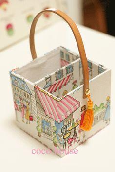 「新作バッグインバッグ、デパガさんからヒントを」の画像 ふんわりかわいいカルトナージュ  Ameba (アメーバ)