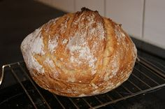 Veronikas lille matkrok: No-knead brød 2. forsøk: Klassisk loff