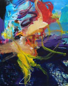 Anna Hryniewicz, 100x80cm, Elements, acrylic on canvas, Dec2016