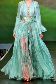 Not only in Morocco, but in many other countries, the Moroccan caftan is one of the most beautiful traditional dresses.: