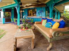 Attractive Hawaiian Cottage Style Tropical Patio   Decors Home