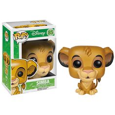 Disney The Lion King Simba Pop! Vinyl Figure ($15) ❤ liked on Polyvore featuring home, home decor, disney figure, vinyl home decor, lion figurine, disney figurines and vinyl figurines