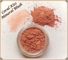 Loose Mineral Cheek Color CORAL KISS Blush in by LittleStuff4u