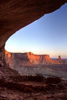 False Kiva - Canyonlands National Park