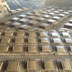 Nova producció de cairons de #ceràmica #rústica de mides 20x19x5 #construcció #rehabilitació  Nueva producción de #tobas de #cerámica #rustica de 20 x 19 x 5 #construcción #rehabilitación