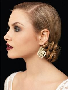 The Vintage Hairstyle | Homecoming Dance Hairstyles Inspiration Perfect For The Queen