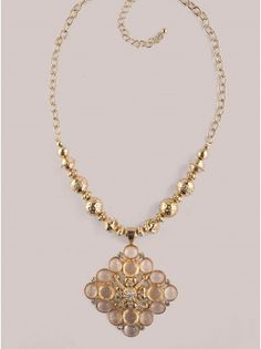 The Danielle Necklace is the perfect piece to channel the baroque trend this fall!