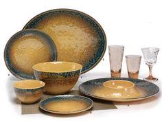 """Merritt USA Tuscan Sun 11"""" Melamine Dinner Plate Set (Set of 6)"""