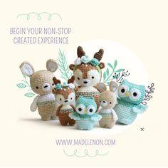 Madelenon - Crochet Designs - Pattern-Guides for Crochet Dolls Crochet Designs, Crochet Patterns, Dinosaur Stuffed Animal, Stuffed Animals, Amigurumi Doll, Crochet Animals, Crochet Dolls, Painted Rocks, Pattern Design