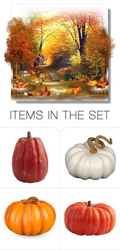"""""""The Pumpkin Patch"""" by luna-fim ❤ liked on Polyvore featuring art"""