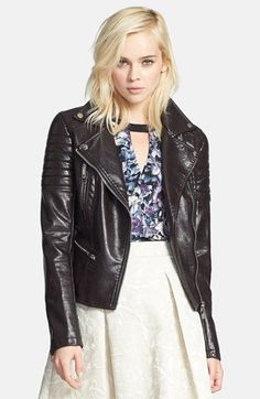 BLANKNYC Quilted Faux Leather Jacket | Nordstrom