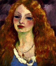 Van Dongen-Portrait de Femme (1909) Huile sur toile (54 x 48)