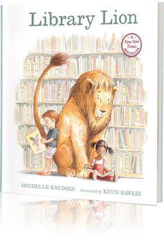 Library Lion Written by: Michelle Knudsen | Read by: Mindy Sterling http://www.storylineonline.net/library-lion/