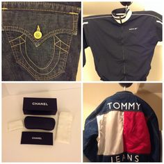 True Religion Jeans, Reebok sweat suit, Chanel eye glass case, Tommy Hilfiger jacket & much more for sale on eBay. Go to Fashion Boutique 29. Thank you.