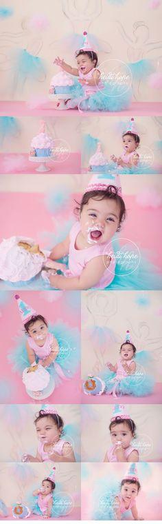 Cake smash | First Birthday | Heidi Hope Photography