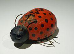 Ice Fishing Decoy: Ladybug
